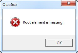 "Error in PowerGUI Script Editor - ""Root element is missing"""